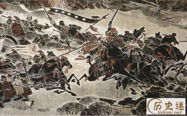 垓下之战油画