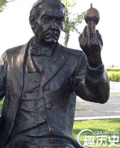 爱迪生雕像